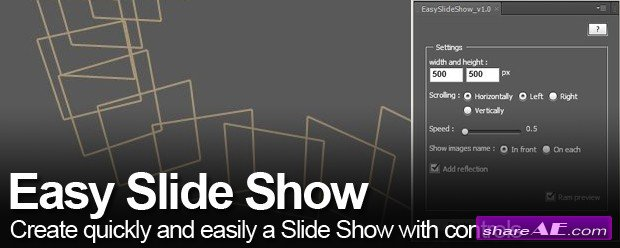 Easy Slide Show v1.1 (Aescripts)