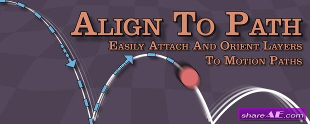 Align to Path v1.6 (Aescrips)