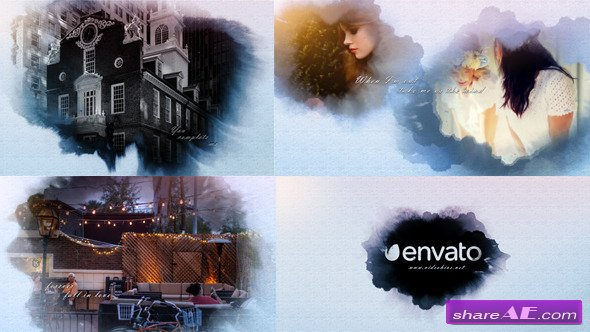 Ink Postcard Opener - After Effects Project (Videohive)