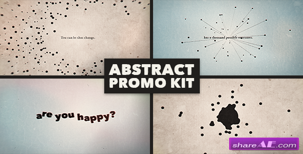 Abstract Promo Kit - After Effects Project (Videohive)