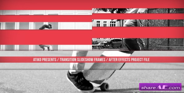 Transition Slideshow Frames - After Effects Project (Videohive)
