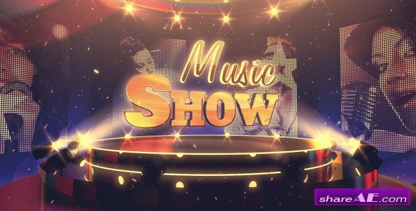 Music Show - After Effects Project (Videohive)