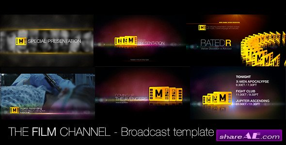 The Film Channel - After Effects Project (Videohive)