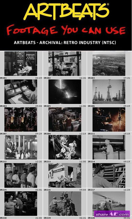 Artbeats - Archival: Retro Industry (NTSC)