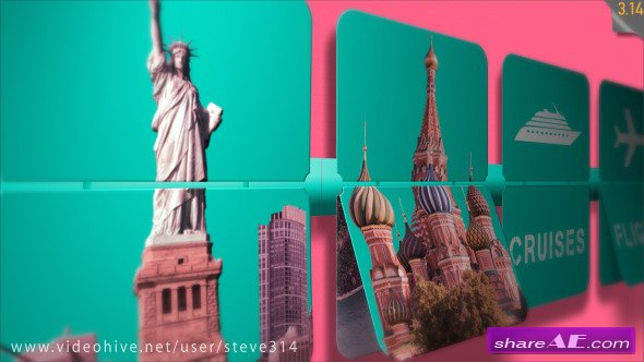 Travel Agency / Travel Services Intro - After Effects Project (Videohive)