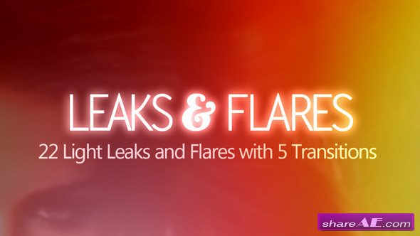Leaks & Flares - Motion Graphics (Videohive)