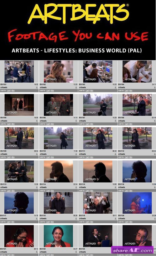 Artbeats - Lifestyles: Business World (PAL)