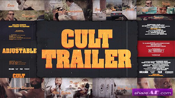 Cult Slides Creator Pack - After Effects Project (Videohive)