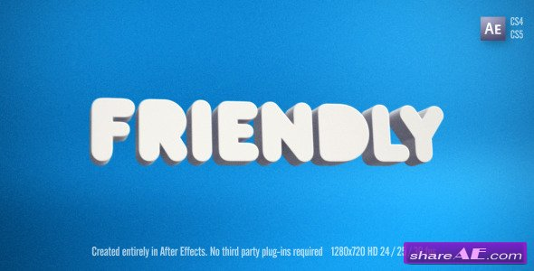 Friendly - After Effects Project (Videohive)