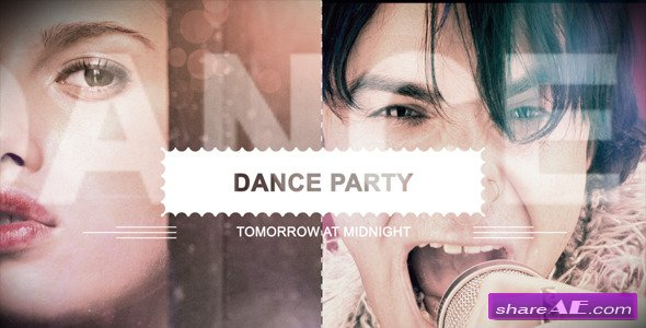 Night Club Music And Dance Party Slideshow - After Effects Project (Videohive)