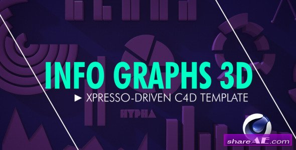 Info Graphs 3D - After Effects Project (Videohive)
