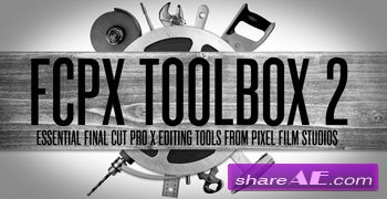 TOOLBOX 2 - Pro Editing tools for FINAL CUT PRO X