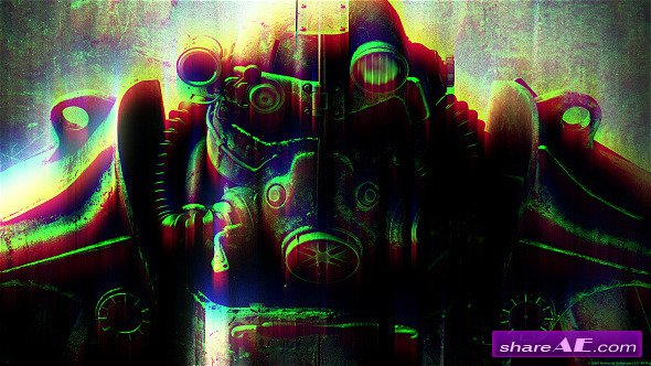 Glitch Twitch RGB TV Noise - After Effects Project (Videohive)