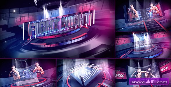 Fight Night Broadcast Package - After Effects Project (Videohive)