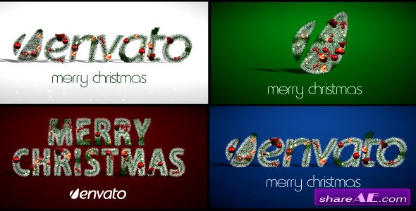 Christmas Logo - After Effects Project (Videohive)