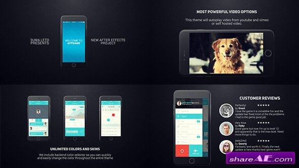 Presentation page 46 free after effects templates after iphone 6 app presentation after effects project videohive maxwellsz