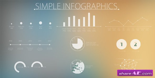 Simple and Modern Infographics - Project For After Effects ...