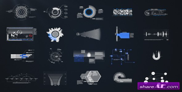 HUD & Infographic Elements - Project For After Effects ...