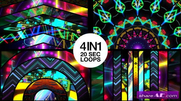 Mixed Stage Visuals - Motion Graphic (Videohive)
