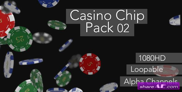 Casino Chip Pack 02 - Motion Graphic (Videohive)
