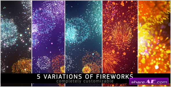 Fireworks - Motion Graphic (Videohive)