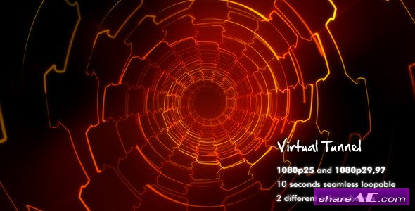 Virtual Tunnel - Motion Graphic (Videohive)