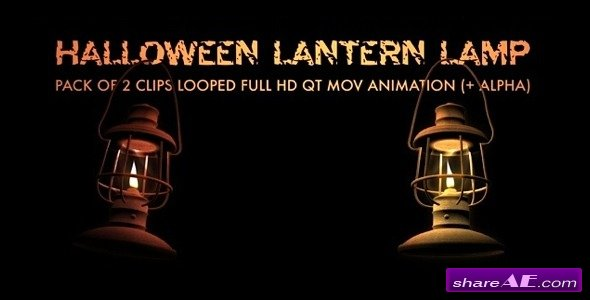 Lantern Lamp - Pack Of 2 - Motion Graphic (Videohive)