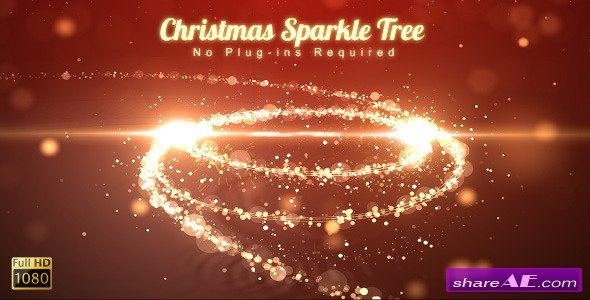 Christmas Sparkle Tree - After Effects Project (Videohive)