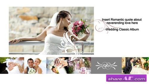 Wedding Classic Album - After Effects Project (Revostock)