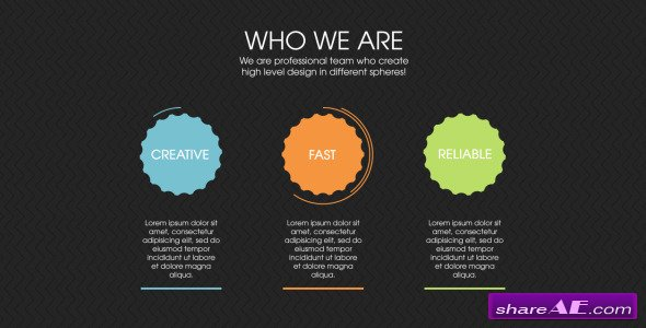 Design Agency Infographics - After Effects Project (Videohive)