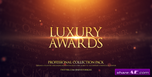 Luxury Awards - After Effects Project (Videohive)