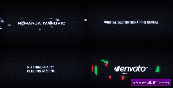The Most Epic Digital Distortion - After Effects Project (Videohive)
