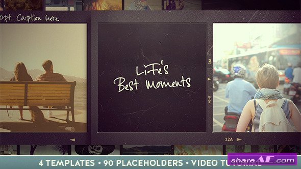 Vintage Classic Slideshow - After Effects Project (Videohive)
