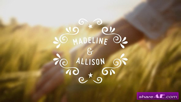 Romantic Insignias Pack - After Effects Project (Videohive)