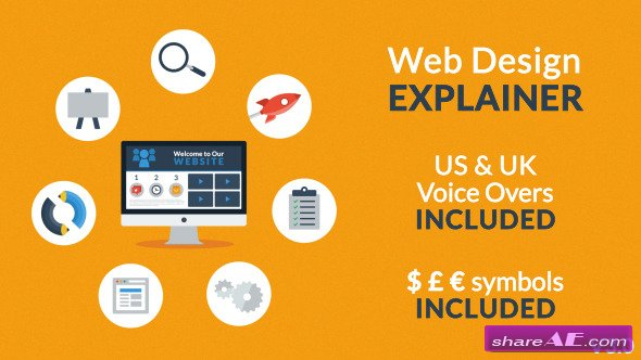 Web Design Explainer - After Effects Project (Videohive)