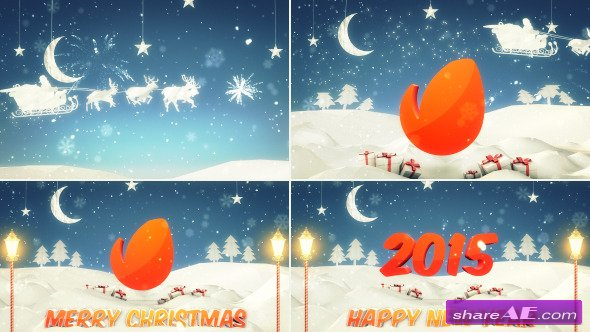 Christmas / New Year Logo Intro - After Effects Project (Videohive)