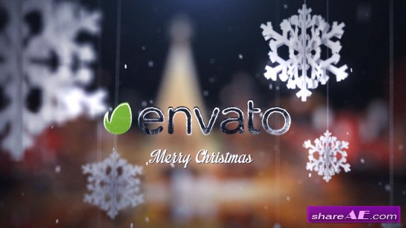 Christmas Greetings Intro - After Effects Project (Videohive)