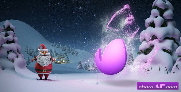 Santa - Christmas Magic - After Effects Project (Videohive)