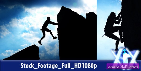 Rock Climber - Stock Footage (Videohive)