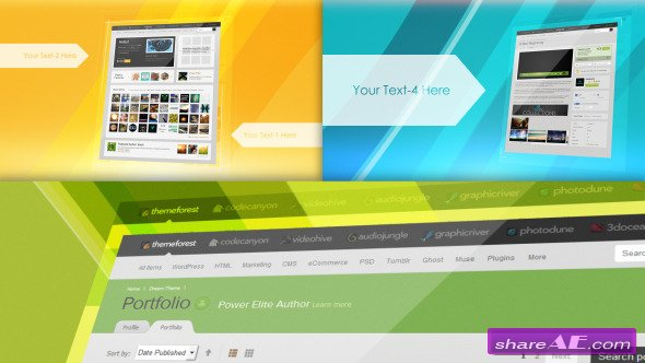 Website Presentation 6559840 - After Effects Project (Videohive)