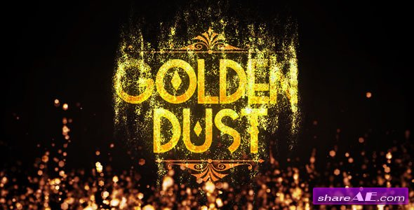 Golden Dust - After Effects Project (Videohive)
