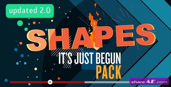 Shapes, Shapes, Shapes: Its Just Begun - Motion Graphics (Videohive)
