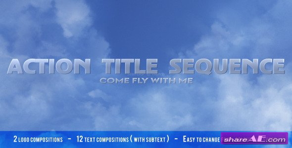 Fly Through the Clouds - After Effects Project (Videohive)