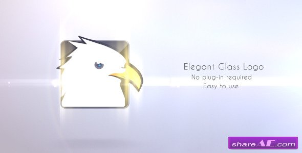 Elegant Glass Logo - After Effects Project (Videohive)