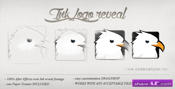 Logo Ink Reveal - After Effects Project (Videohive)