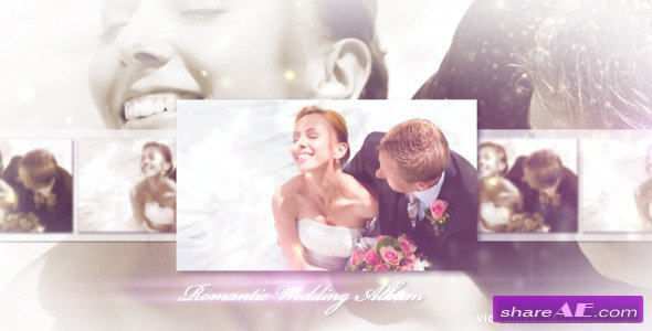 Romantic Wedding - Elegant Album - After Effects Project (Videohive)