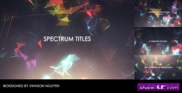 Spectrum Trailer Titles - After Effects Project (Videohive)