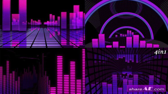 VJ Equalizer  - Motion Graphics (Videohive)
