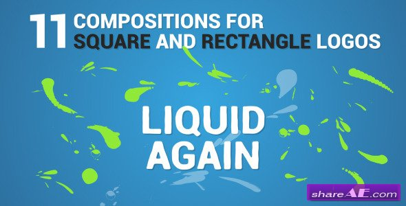 Liquid Logo Reveal Again - After Effects Project (Videohive)