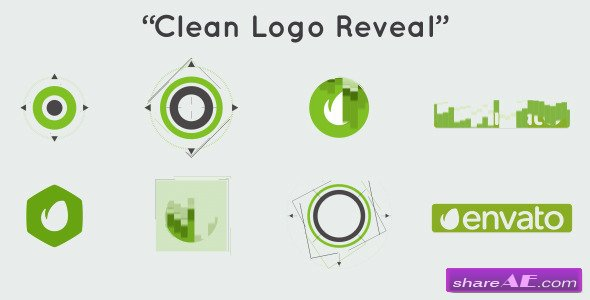 Clean Logo Reveal 9027994 - After Effects Project (Videohive)